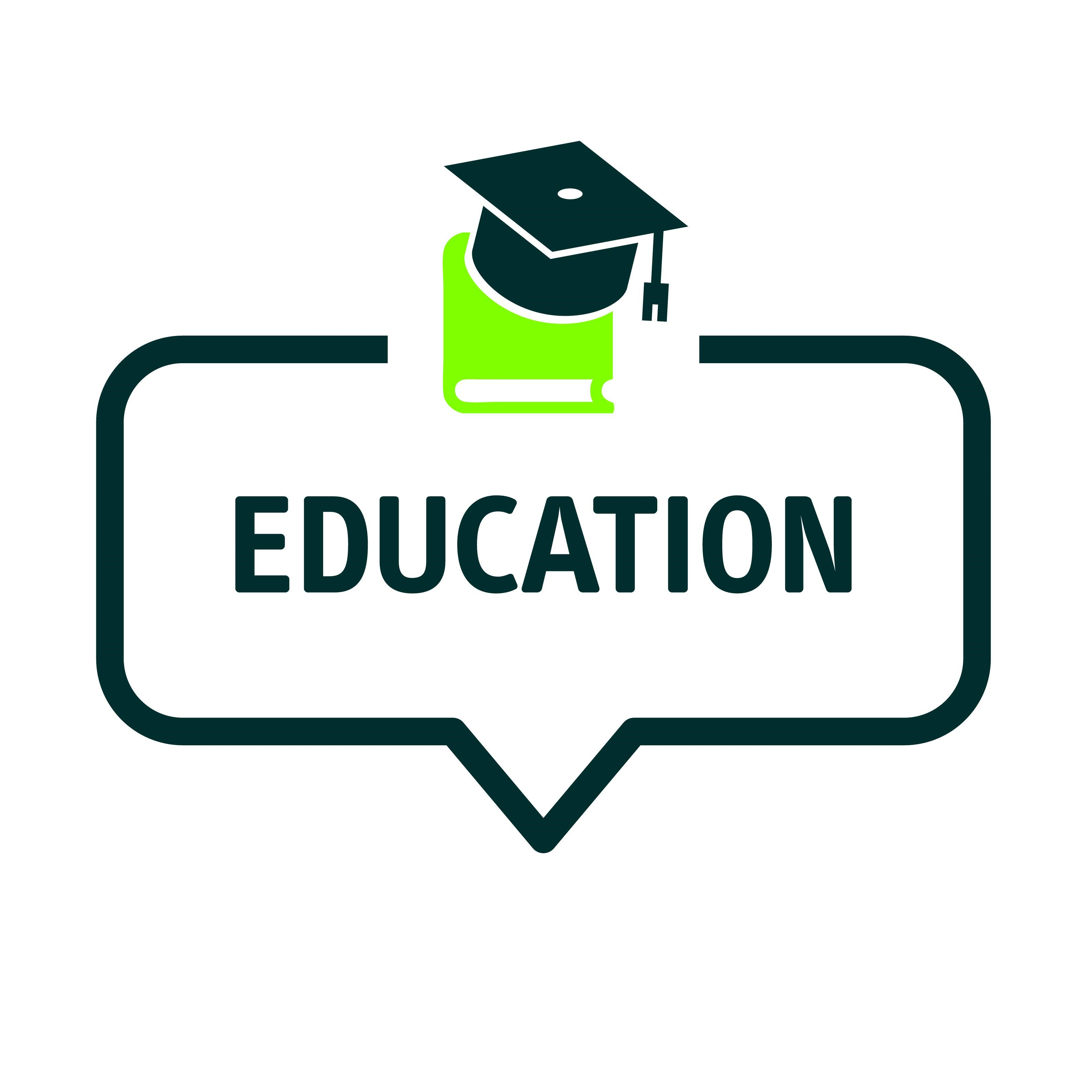 logo with the wording 'Education'